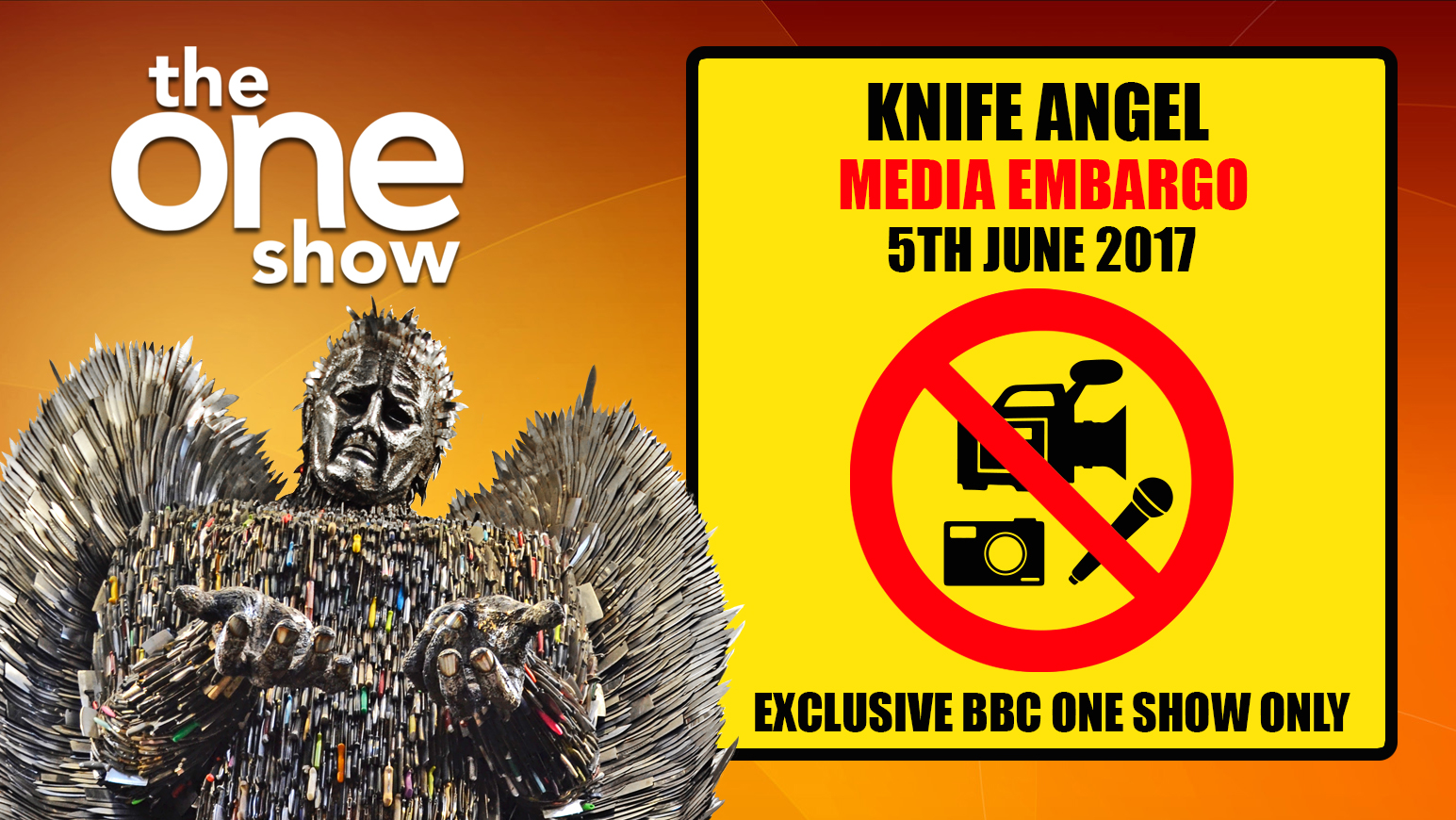 knife angel embargo
